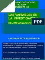 009 Las Variables