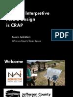 effective interpretive media design is crap sohlden powerpoint v2 reduced