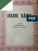 Ibrahim Hakki - Insan-i Kamil