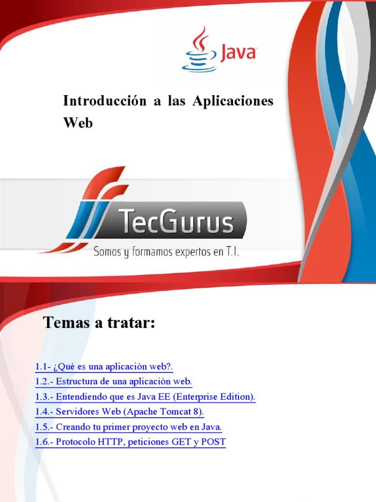 1 Introduccion A Las Aplicaciones Web