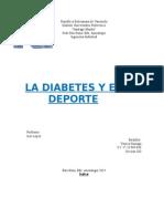 Diabetes y Deporte