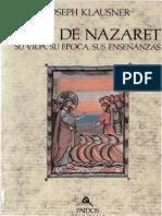 62678398 Klausner Joseph Jesus de Nazaret