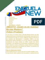 Quien Es Nicolas Maduro ?