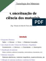 Conceituação de Ciência Dos Materiais