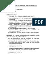 Resolucion Del Examen Parcial de Pcp 1