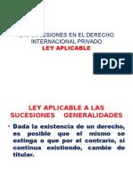 LAS SUCESIONES EN EL DERECHO INTERNACIONAL PRIVADO.pptx