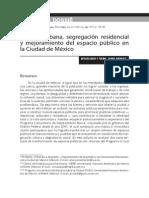 Pobreza urbana, segregación residencial y mejoramiento del espacio público en la Ciudad de México