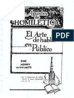 94054950 Henry Wipports Apuntes de Homiletic A