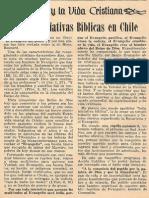 Bellas Iniciativas Biblicas en Chile