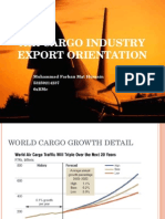 Air Cargo Industry Export Orientation