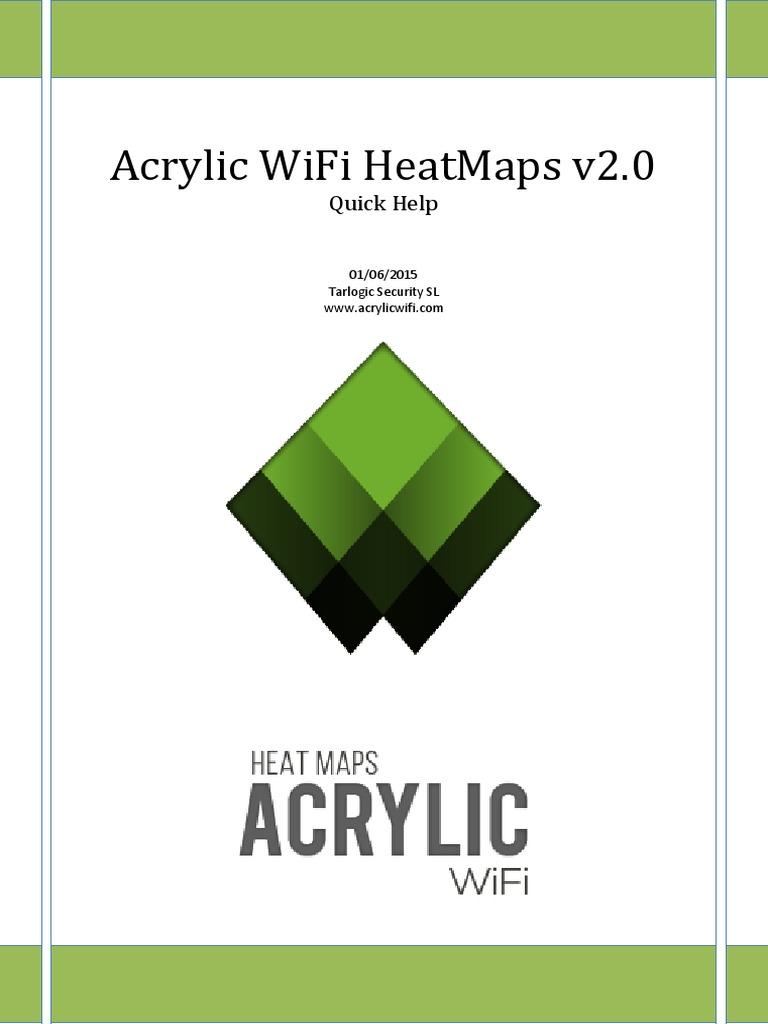 Quick Help Acrylic WiFi HeatMaps-V2 0 [ENG] | Wi Fi