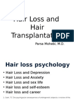 Hair Loss and Hair Transplantation - Webinar