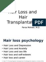 Hair Loss and Hair Transplantation - Webinar