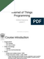 Iot Lesson1