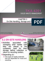 SOLID WASTE MANAGEMENT (TKA 4201) LECTURE NOTES 5
