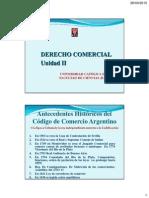 """Dcom_unidad 2_derecho Comercial Autonomia y Unificaciã""""N_2015"""