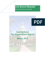 Tax Expenditure Report March 2010