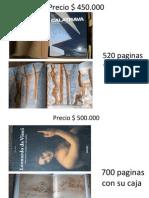 Listado de Libros Arquitectura