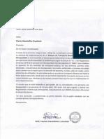 Carta Respuesta Trafico y Vialidad