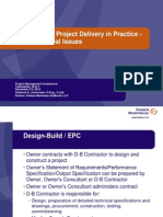 Design-Build_Project Delivery in Practice - Some Practical Issues