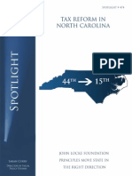 Spotlight 474 - Tax Reform in North Carolina