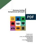 Ramowy katalog kompetencji cyfrowych