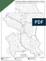 Homeless Encampment SEPA Analysis Map