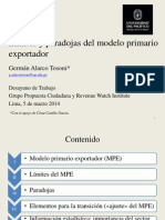 Modelo Primario Exportador