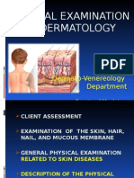 Physical Examination in Dermatology