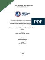 Comercializacion de GLP - Formalizacion de Clientes Directos