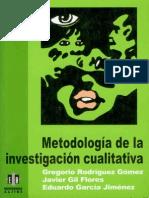 Metodología de La Investigación Cualitativa (62-78) (Rodríguez, Gil, García, 1999)