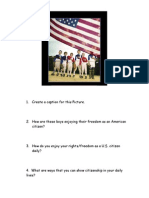 citizenship group worksheets day 1