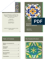 spanish ceramic tiles booklet