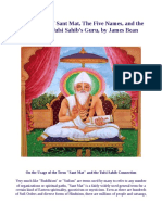 The Origins of Sant Mat, The Five Names, and the Identity of Tulsi Sahib's Guru, by James Bean EBook