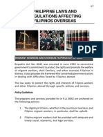 Philippine Laws and Regulations Affecting Filipinos Overseas-chapterIII