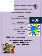 17. Tarea Educación Para Un México Intercultural De