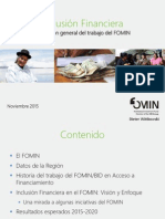 04 FOMIN - Inclusión Financiera