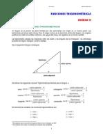 Funciones Trigonométricas Notas