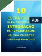 10 Estratégias para promover a integração de funcionários na sua empresa