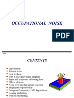 Occupational Noise