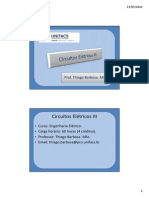 CE III - A5 (Aplicações Da Transformada de Laplace)