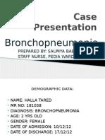 Bronchopneumonia Pedia