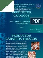 Productos Carnicos