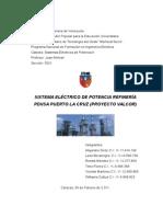 Sistema de Potencia Electrico Refineria Pdvsa Puerto La Cruz Proyecto Valcor