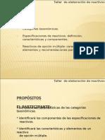 CONSTRUCCION DE REACTIVOS