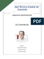 Deontologia- La Cociencia