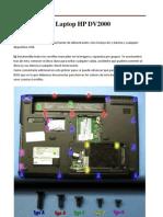 Desarmar Una Laptop HP DV2000, Paso a Paso