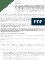 Egyptian Fractions (Mark Dominus, 2006)
