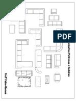 Gabarito Sofá em PDF 1:50