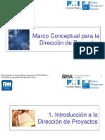 C1,2,3 Marco Conceptual Para la generacion de Proyectos